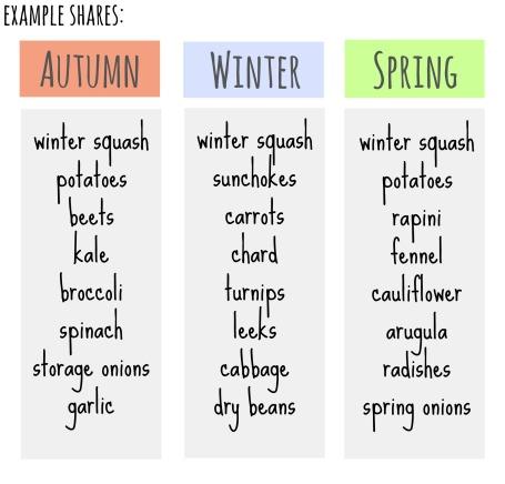 winter shares
